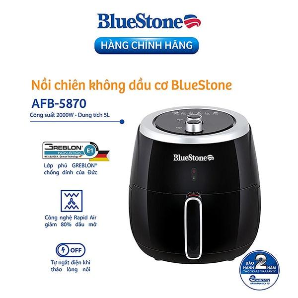 Nồi Chiên Không Dầu Bluestone AFB-5870