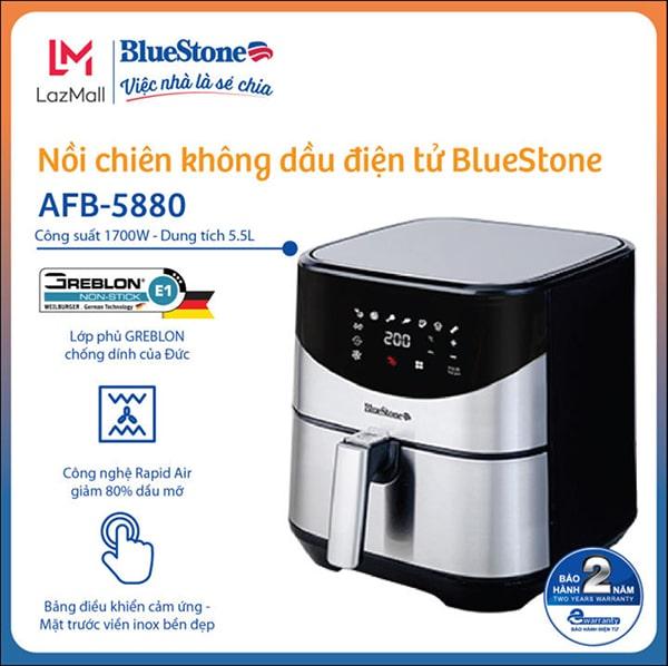 Nồi Chiên Không Dầu Điện Tử BlueStone AFB-5880